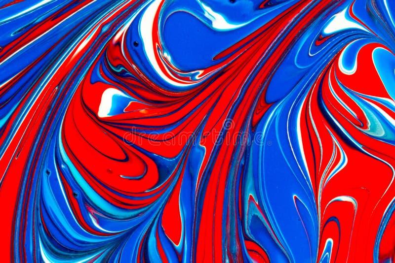 Stubarwna farba wiruje abstrakcjonistycznego tło ilustracja wektor