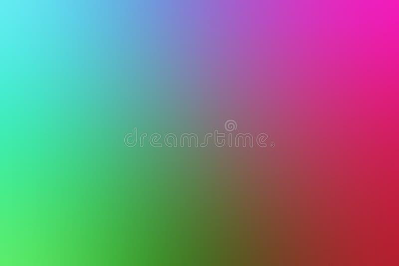 Stubarwnego plamy abstrakcjonistycznego tła wektorowy projekt, kolorowy zamazany ocieniony tło, żywa koloru wektoru ilustracja ilustracja wektor