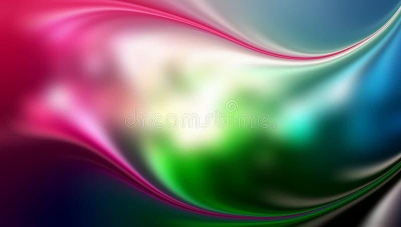 Stubarwnego plamy abstrakcjonistycznego tła wektorowy projekt, kolorowy zamazany ocieniony tło, żywa koloru wektoru ilustracja ilustracji