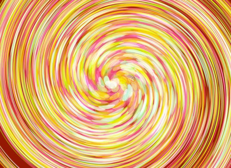 Stubarwnego twirl plamy bokeh Wakacyjni tła ilustracja wektor