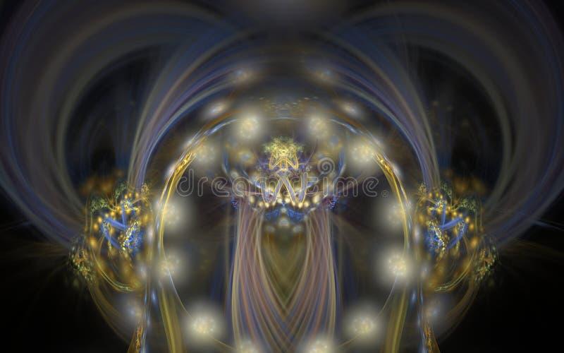 Stubarwni abstrakcjonistyczni tło wakacje zaświecają w ruch plamy wizerunku ilustracji