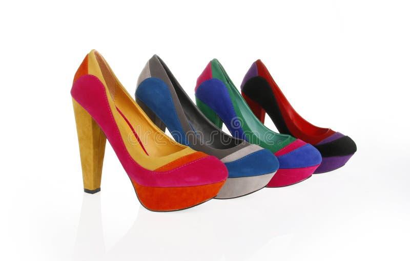 stubarwni buty obrazy stock