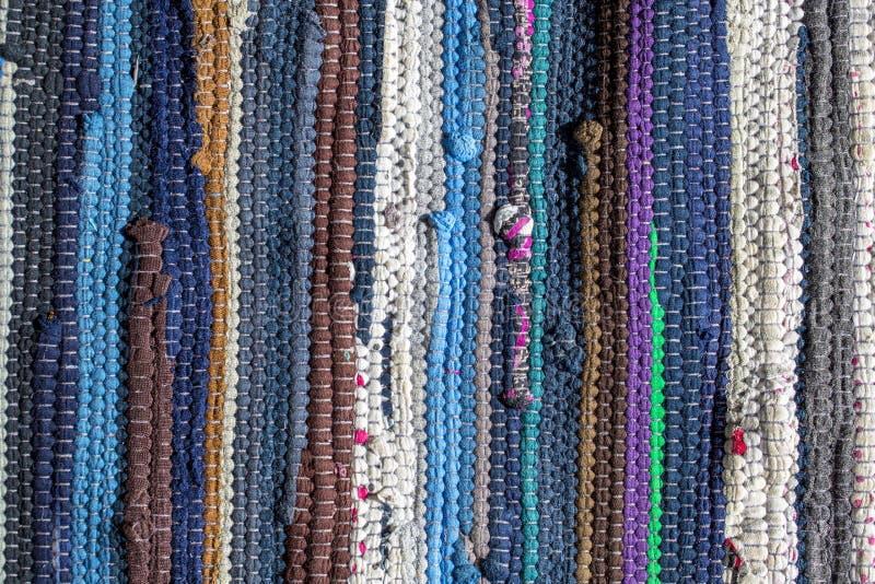 Stubarwny dywanik tekstury wzór jako abstrakcjonistyczny tło fotografia royalty free