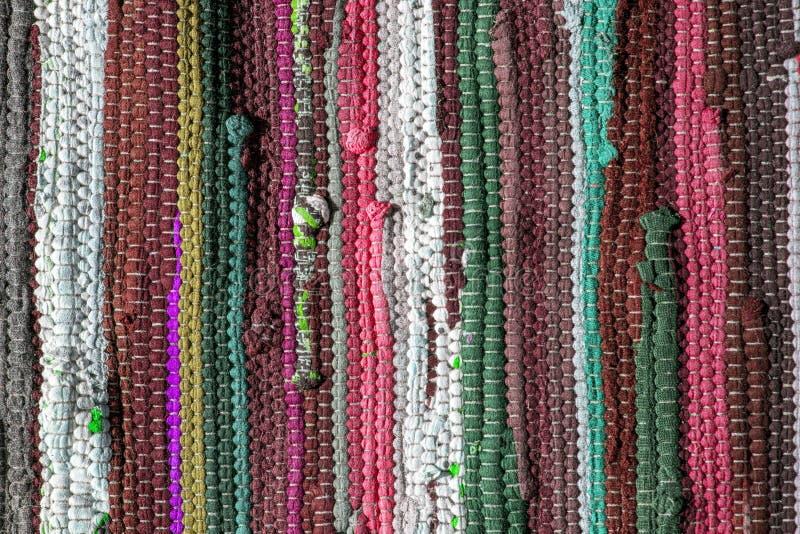 Stubarwny dywanik tekstury wzór jako abstrakcjonistyczny tło zdjęcie stock