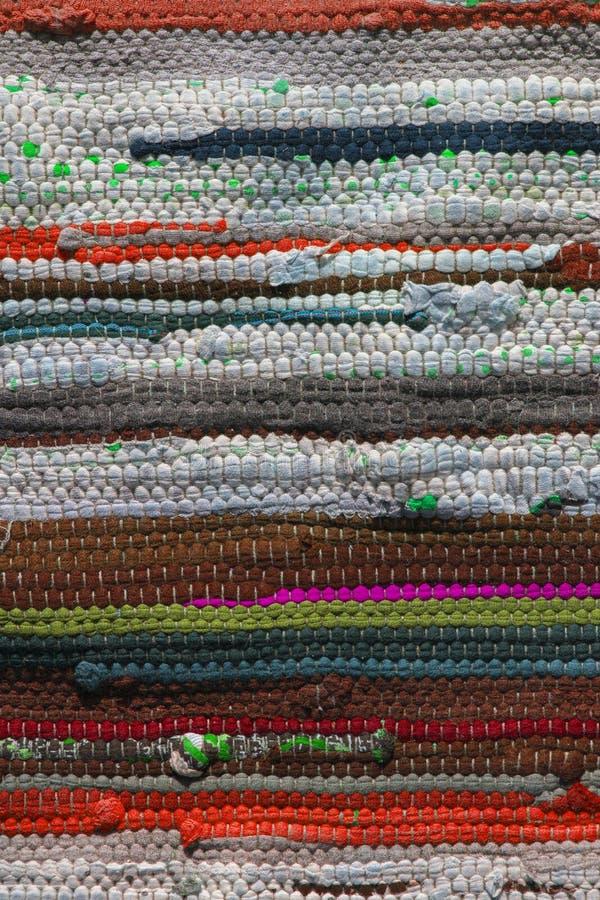 Stubarwny dywanik tekstury wzór jako abstrakcjonistyczny tło zdjęcie royalty free