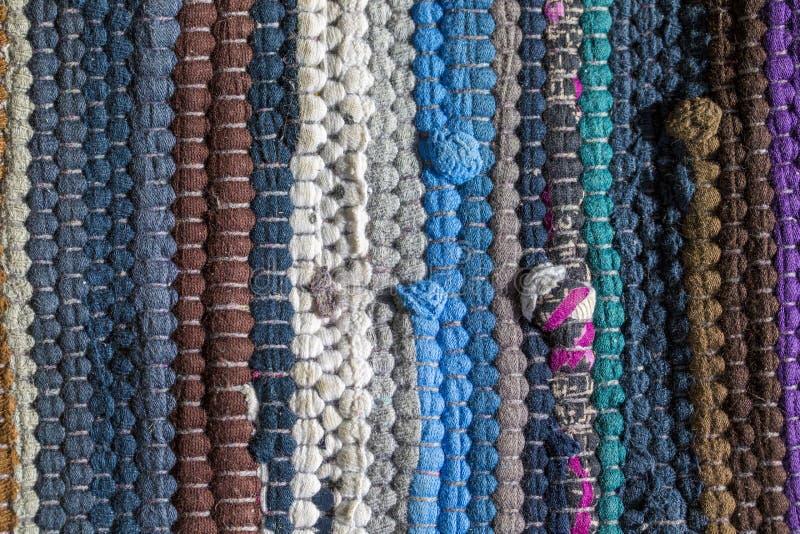 Stubarwny dywanik tekstury wzór jako abstrakcjonistyczny tło zdjęcia royalty free