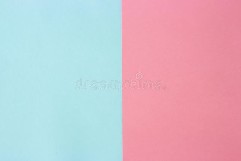 Stubarwny papier pastelowi kolory, tekstura, tło, geometryczna abstrakcja zdjęcie stock