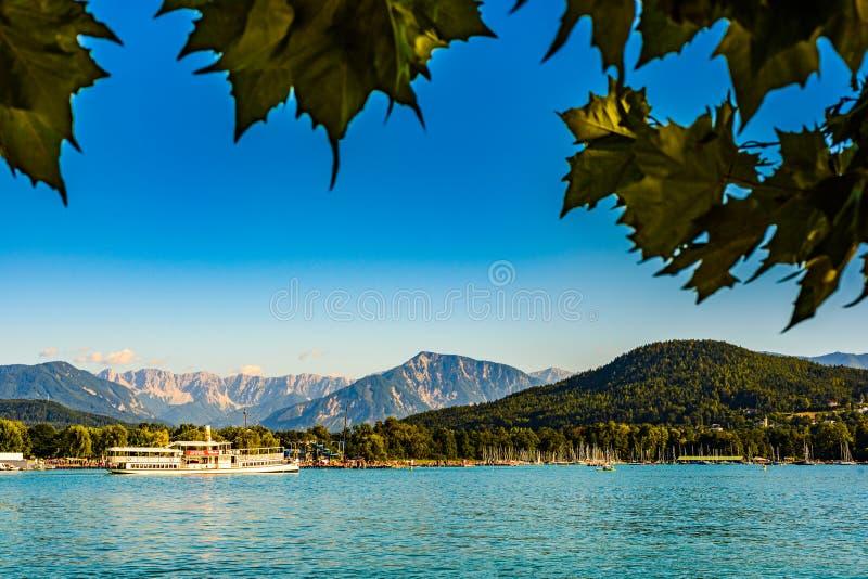 Stubenberg am See, Styria - Austria 22.10.2016: Herberstein palace in Europe. Gardens, Tourist spot travel destination. Klagenfurt, Austria 08.08.2016: Great stock photos