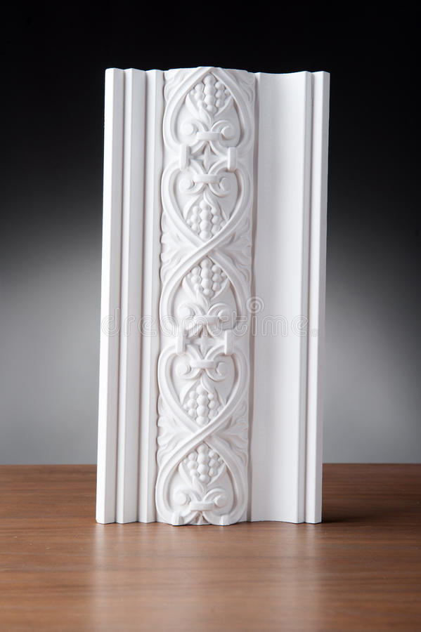 Stucco bianco che modling fotografie stock libere da diritti