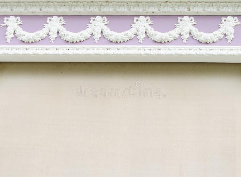 Stucco bianco delle uova fotografie stock