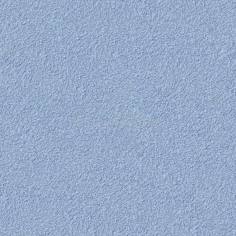 Stucco decorativo blu Struttura senza cuciture di Tileable fotografia stock libera da diritti