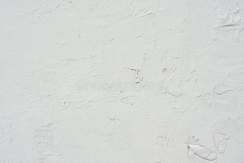 Stucco del calcestruzzo della parete del cemento bianco Progettazione della superficie del cemento del modello buona per il fondo fotografia stock