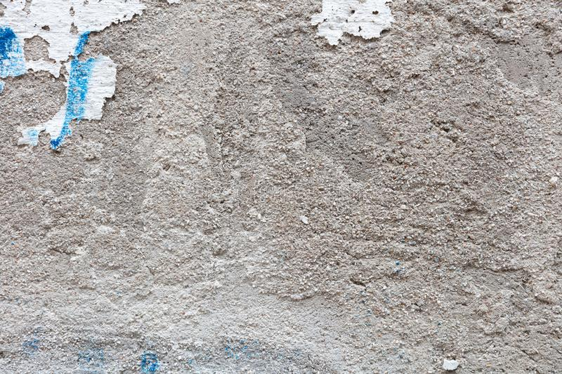 Stucco painted wall texture stock image