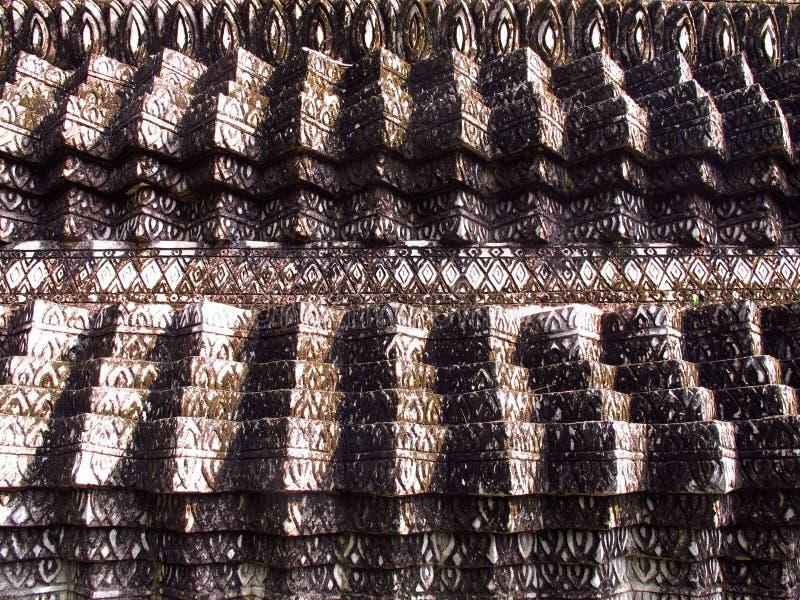Download Stucco, Thai Pattern On Pagoda Stock Image - Image: 24624609