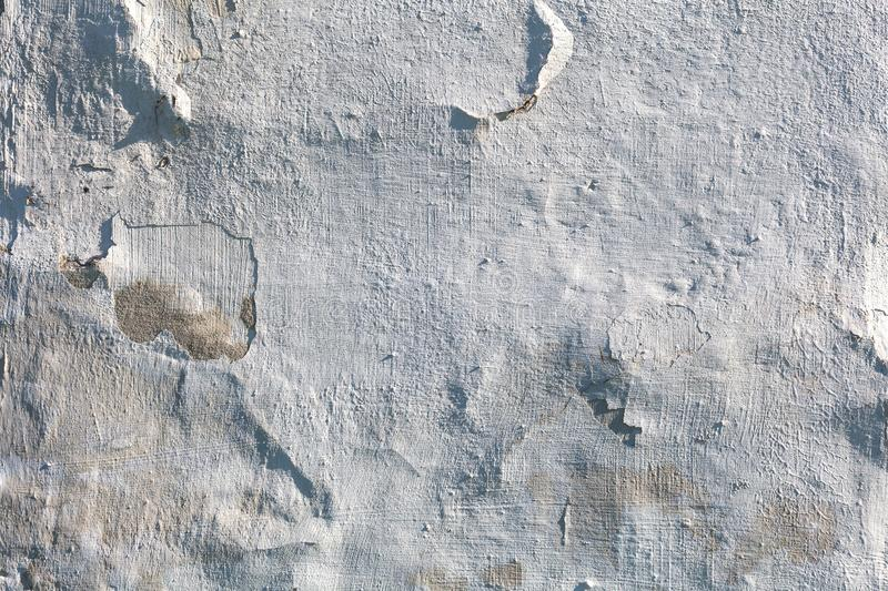Stucco white wall background or texture stock images