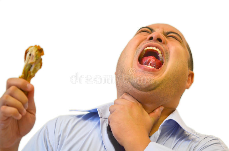 Download Stuck In Throat (severe Pain) Stock Photo - Image: 26609168