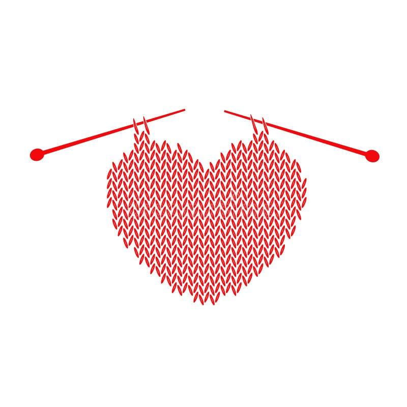Stucken modell med hjärta vektor illustrationer