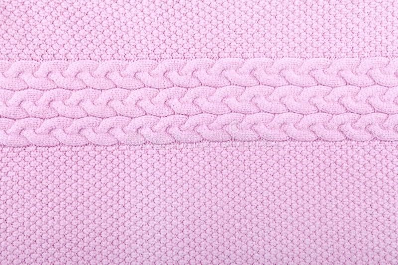 Stucken rosa färgtexturbakgrund arkivfoto