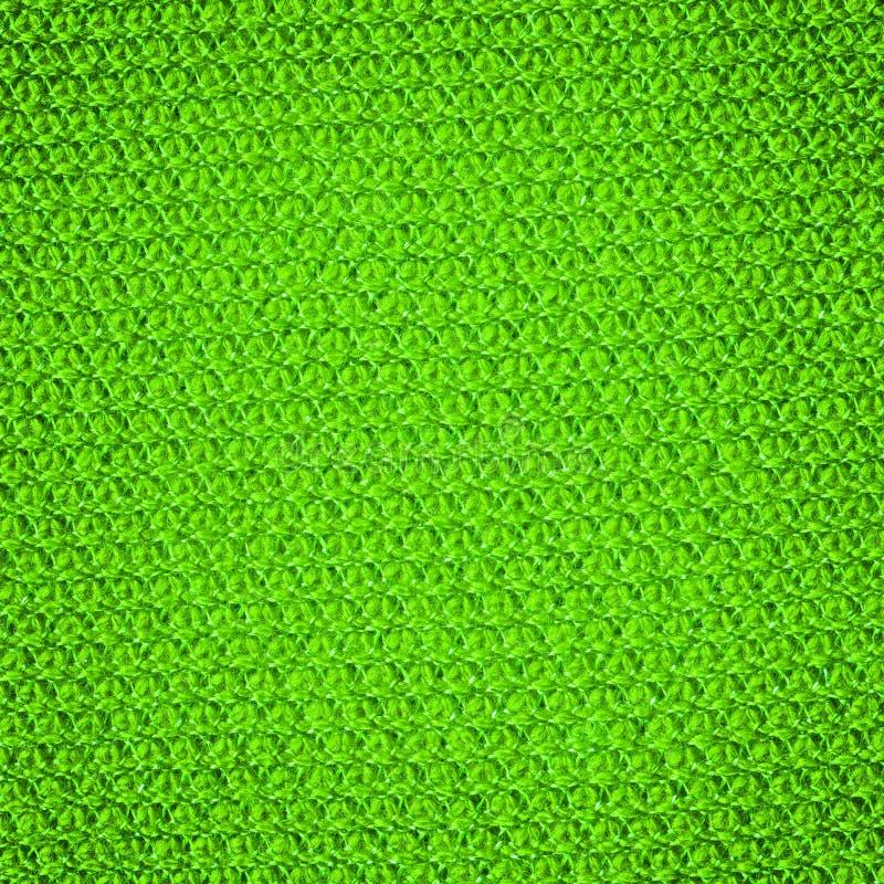 Stucken textiltextur Tända - gräsplan färgar royaltyfria foton