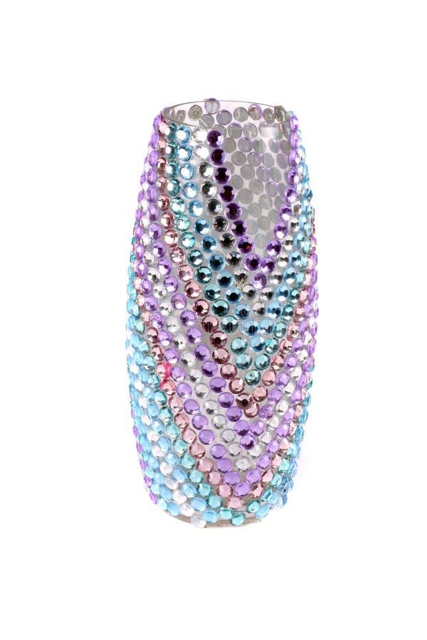 Download Studded Vase stock photo. Image of stones, glitter, artistic - 25548386