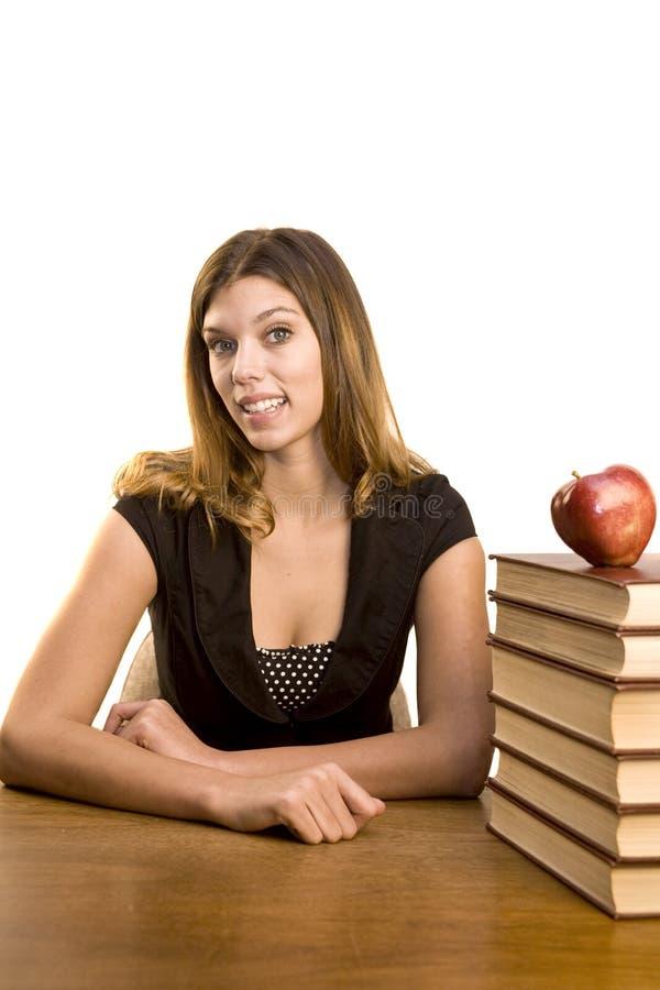 studenccy podręczniki zdjęcie stock