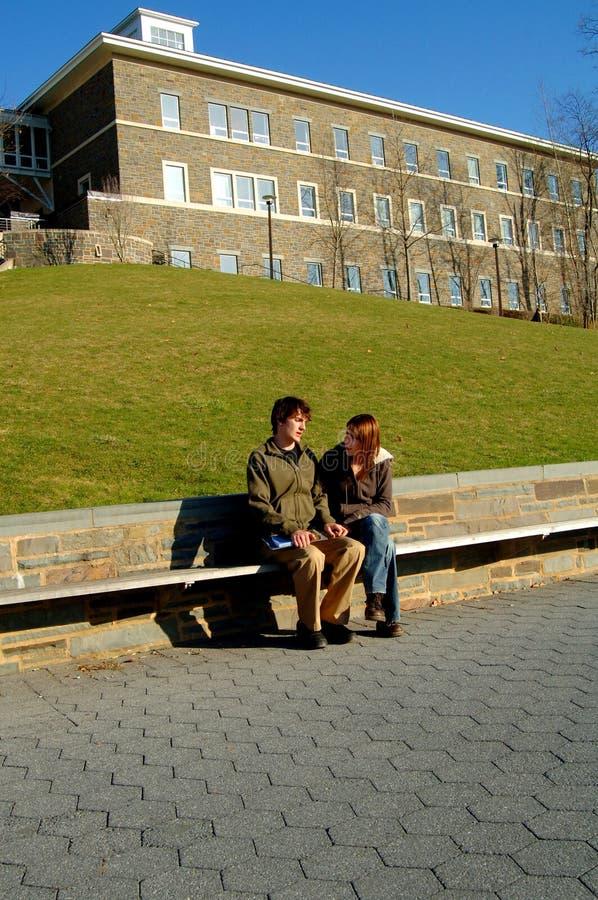 studenci fani zdjęcie stock