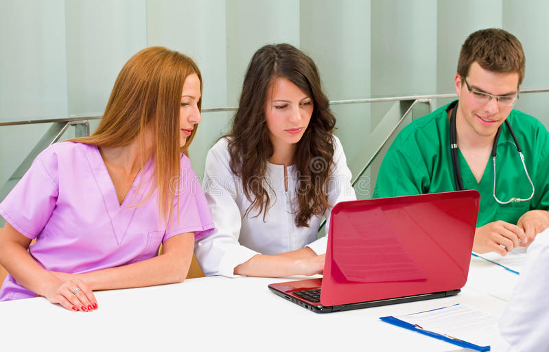 Studenci medycyny fotografia stock
