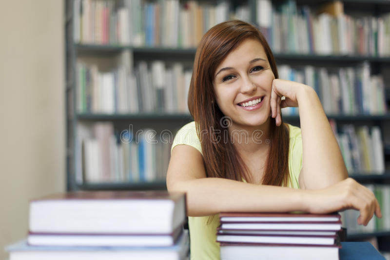 Studencka dziewczyna zdjęcia stock