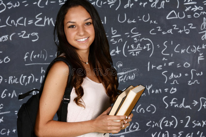 Student royaltyfri foto
