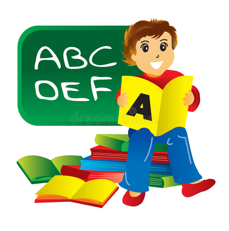 Download Student stock illustration. Image of education, children - 8589172