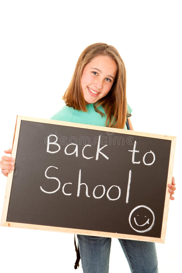 Download Back to school student stock photo. Image of board, chalk - 29904090