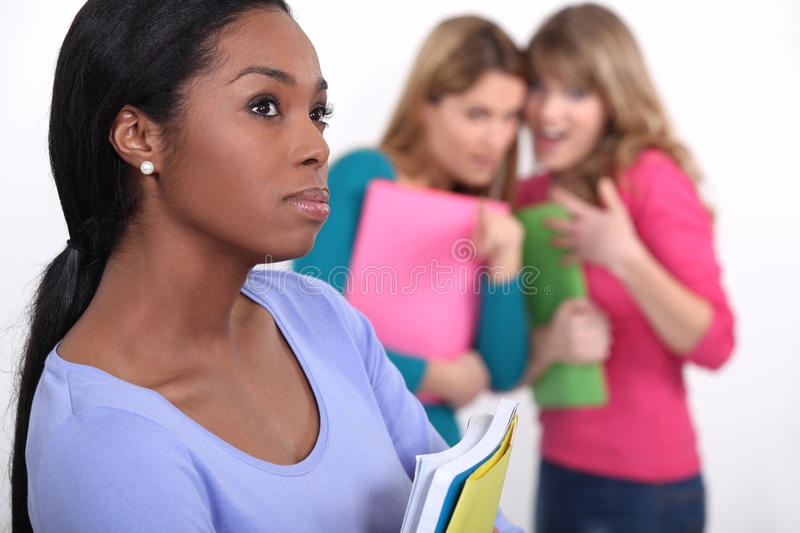 Student being bullied stock photos