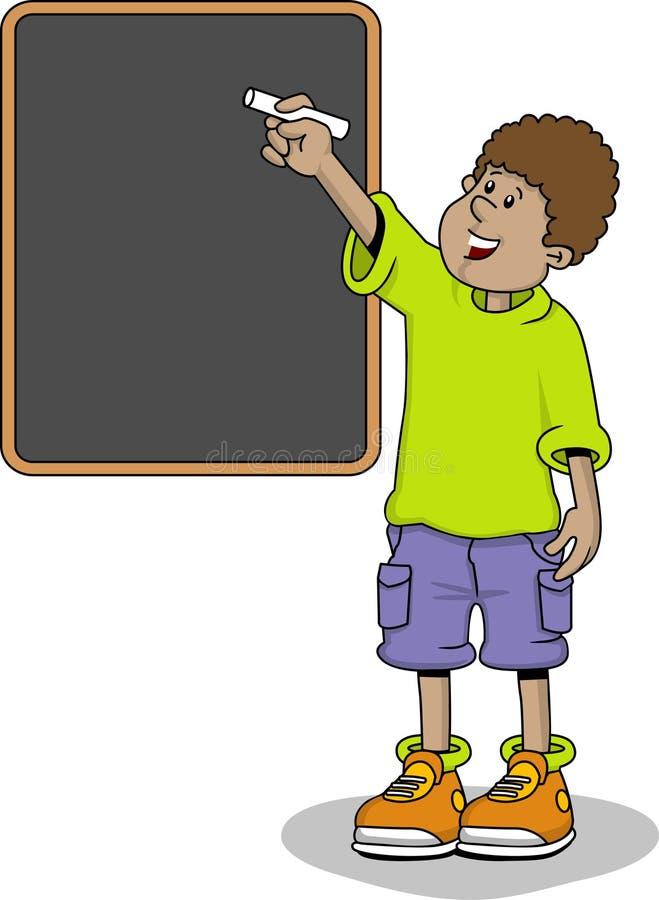 Student boy stock illustration