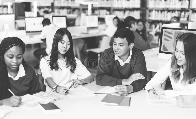 Student Classmate Friends Understanding Study Concept royalty free stock photo