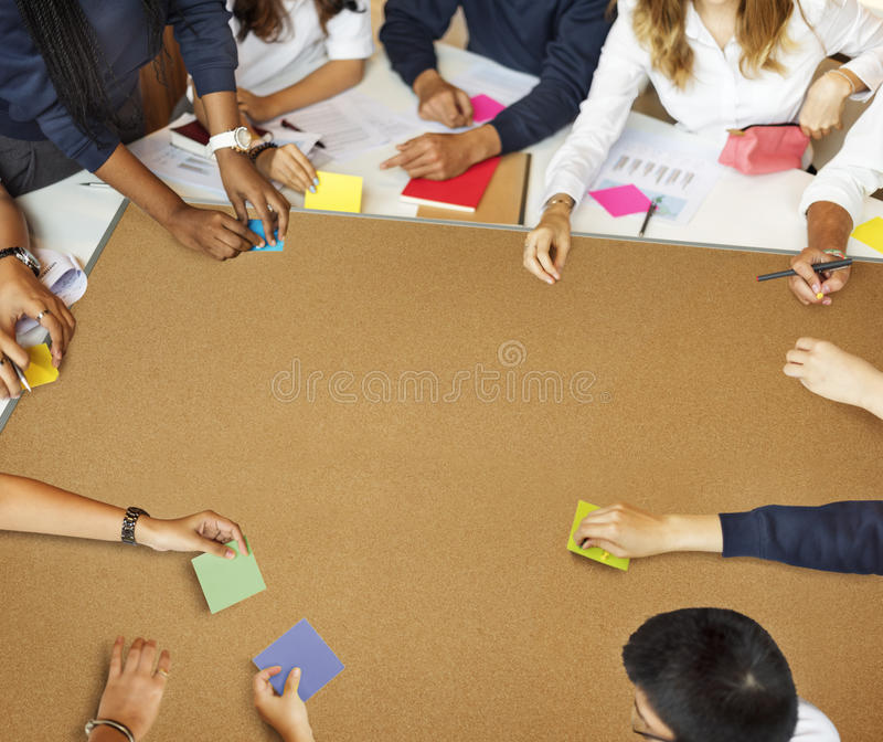 Student Classmate Friends Understanding Study Concept royalty free stock photography