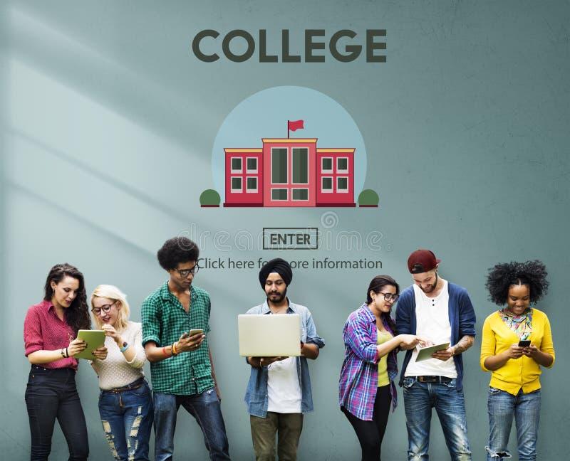 Student Concept van de universiteits de Academische School stock foto