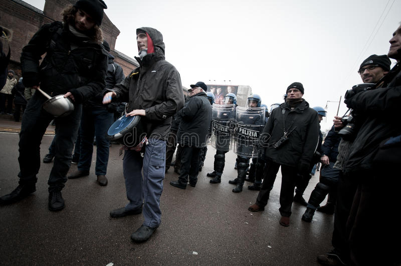 Download Student Demonstration In Milan December 22, 2010 Editorial Photo - Image: 17913731