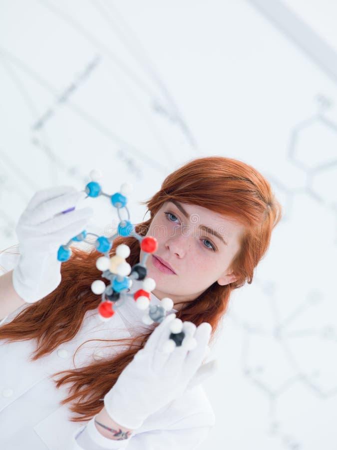 Download Student Dmt Molecular Analysis Stock Photo - Image: 31258106