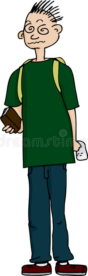 Download Student On Drugs stock illustration. Illustration of cartoon - 27715931