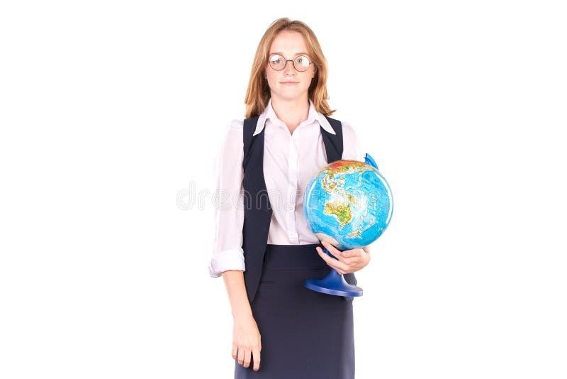 Student in eenvormig stock fotografie