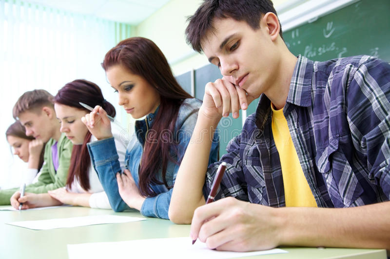 Download Student On Exam Stock Images - Image: 23233114