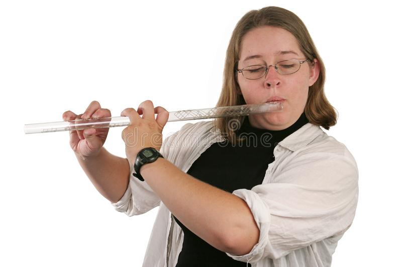 Student Flautist stock images