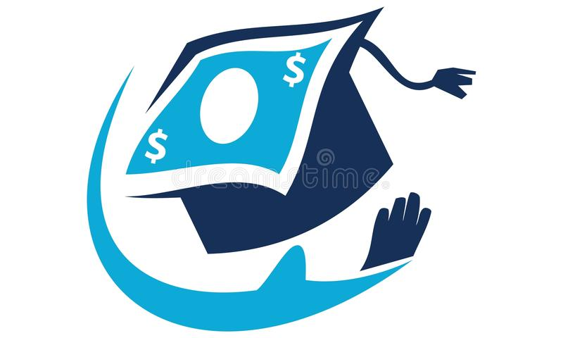 Student Foundation Solutions. Logo Design Template Vector stock illustration
