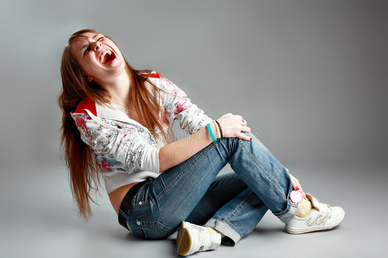 Student fun royalty free stock images