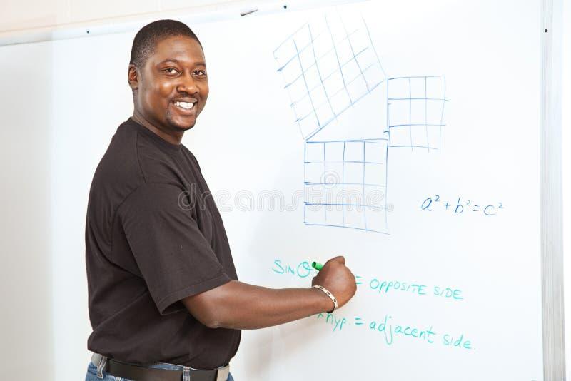 Student - Geavanceerde Math stock fotografie