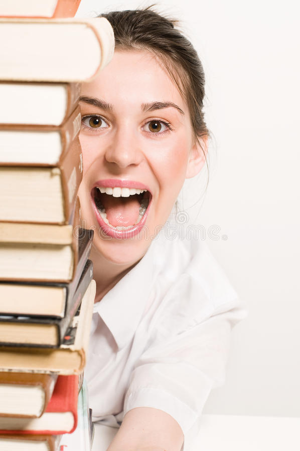Download Student girl stock image. Image of student, learning - 14749853