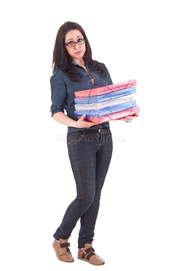Student girl stock photography