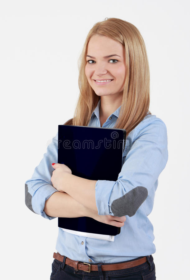 Student Girl Royalty Free Stock Photography