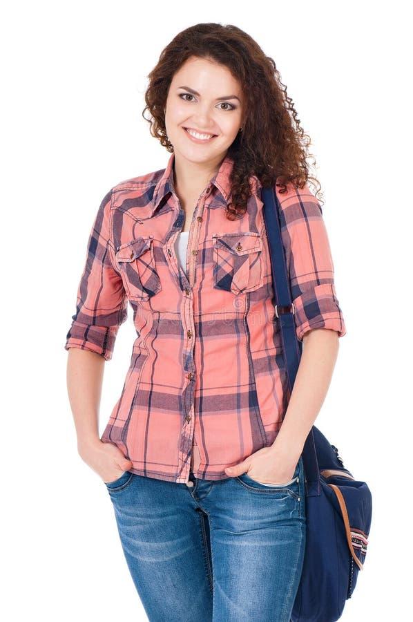 Student girl stock photo
