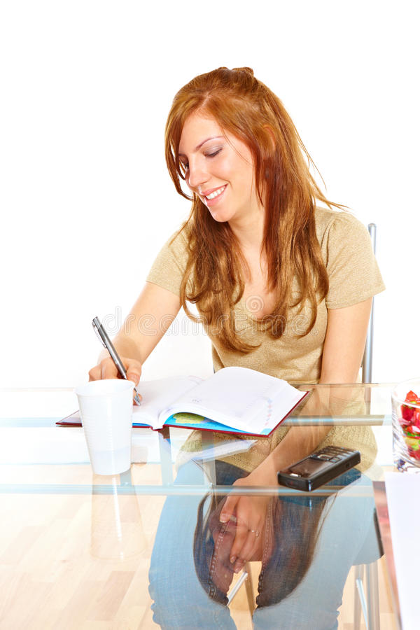 Download Student Girl With Notebook Stock Images - Image: 13397224